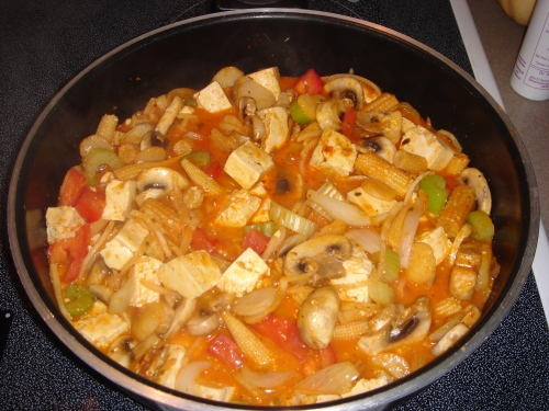Another protein packed Tofu dinner