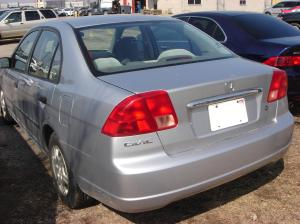 Sela, the 2001 Civic